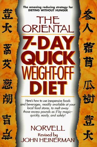 The oriental 7-day quick weight-off diet (Open Library)