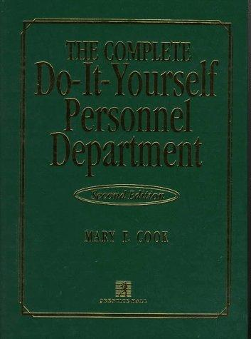 The complete do-it-yourself personnel department