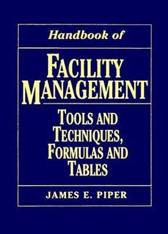 Handbook of Facility Management