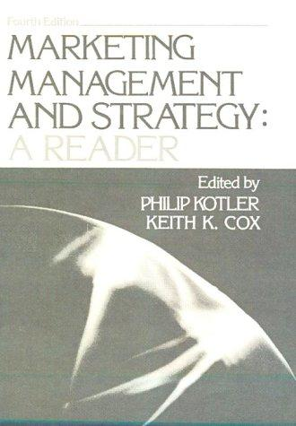 Download Marketing Management and Strategy