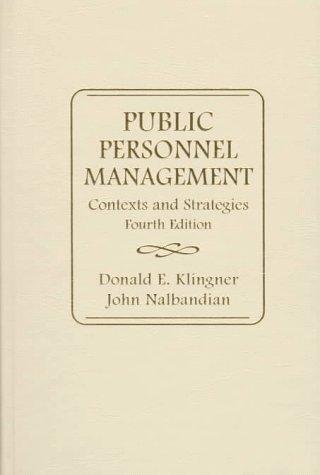 Download Public personnel management