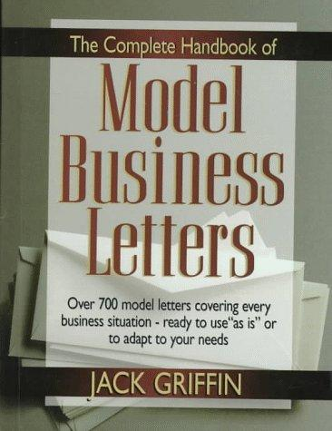 Download The complete handbook of model business letters