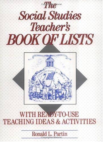 Download The social studies teacher's book of lists