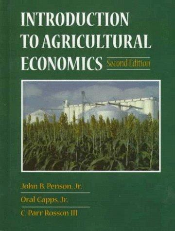 Download Introduction to agricultural economics