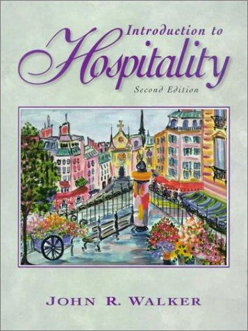 Download Introduction to hospitality