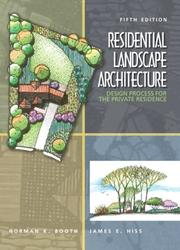 Residential Landscape Architecture: Design Process For The Private Residence PDF Download