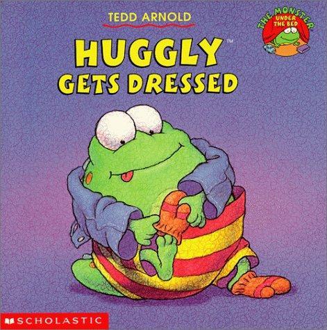 Huggly gets dressed