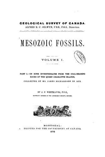 Mesozoic fossils.