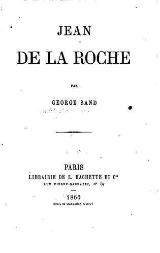 Jean de La Roche
