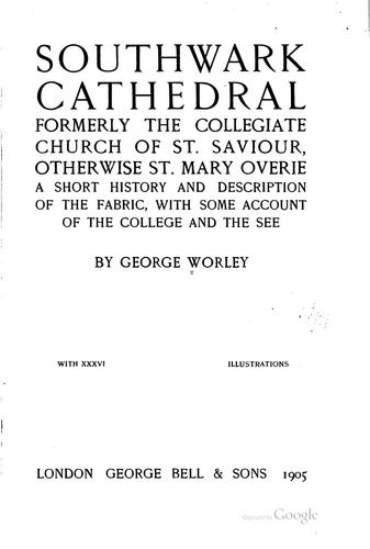 Download The Cathedral Church of Southwell