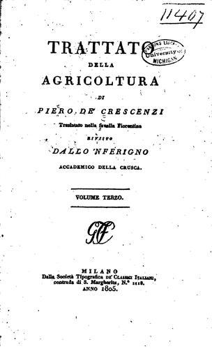 Download Trattato della agricoltura