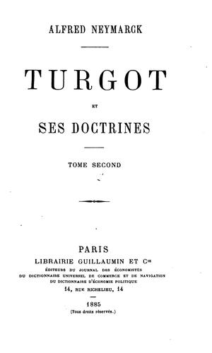 Download Turgot et ses doctrines.