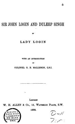 Download Sir John Login and Duleep Singh