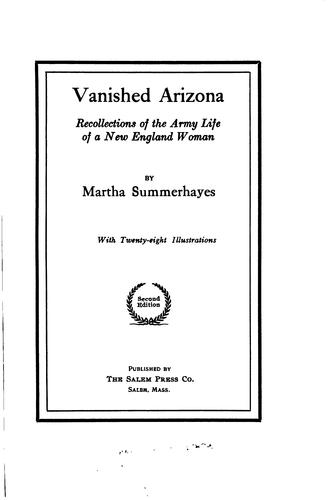 Download Vanished Arizona