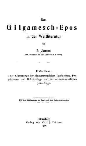 Download Das Gilgamesch-Epos in der Weltliteratur