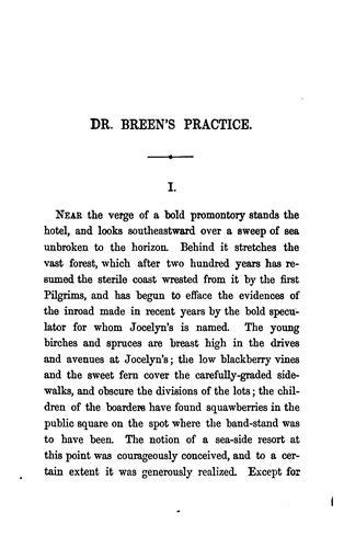 Doctor Breen's practice