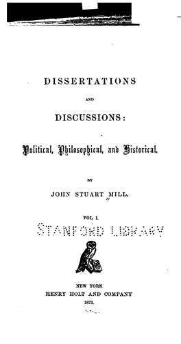 Download Dissertations and discussions