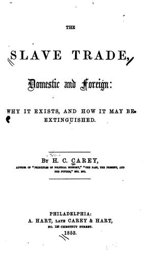 Download The slave trade, domestic & foreign