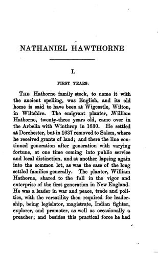 Download Nathaniel Hawthorne.