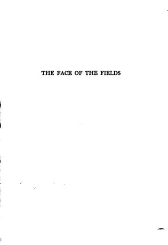 The face of the fields.