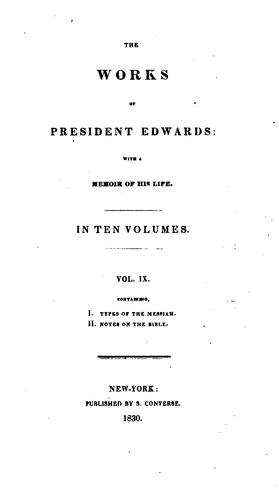 Download The works of President Edwards.