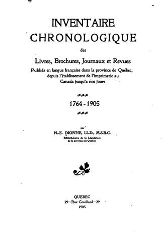 Download Inventaire chronologique …