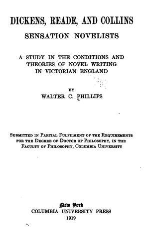 Download Dickens, Reade, and Collins: sensation novelists