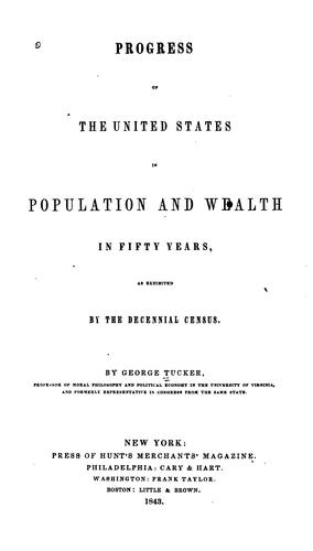 Download Progress of the United States in population & wealth in fifty years.