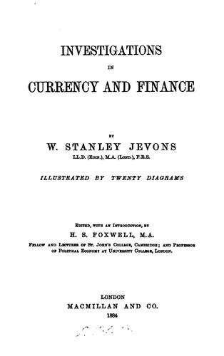 Download Investigations in currency & finance