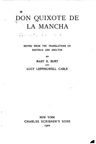 The life and achievements of Don Quixote de la Mancha.