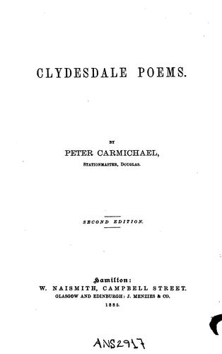 Clydesdale poems.