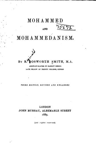 Download Mohammed and Mohammedanism.