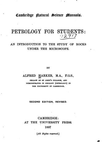 Download Petrology for students