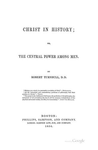 Download Christ in history