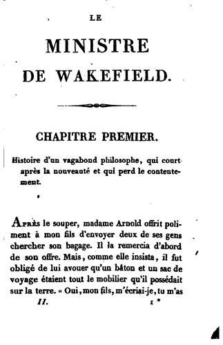 Download Le ministre de Wakefield.