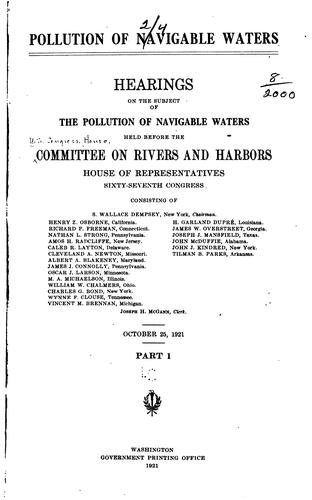 Download Pollution of navigable waters.