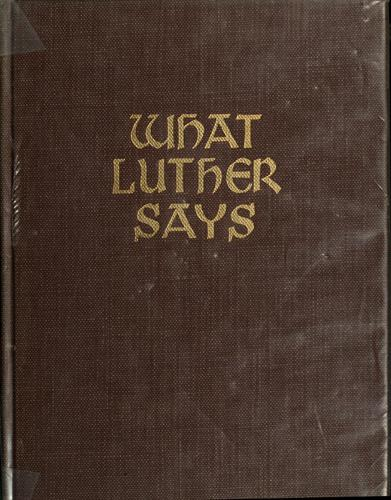 Download What Luther says