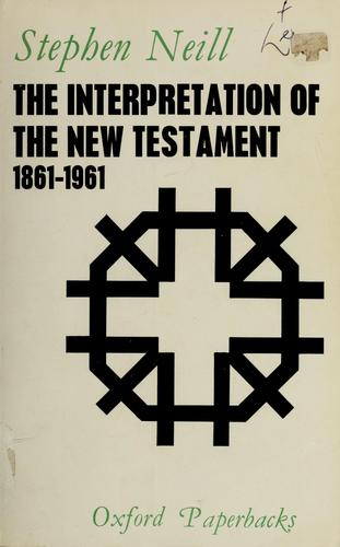 Download The interpretation of the New Testament, 1861-1961