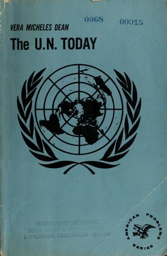 The U.N. today