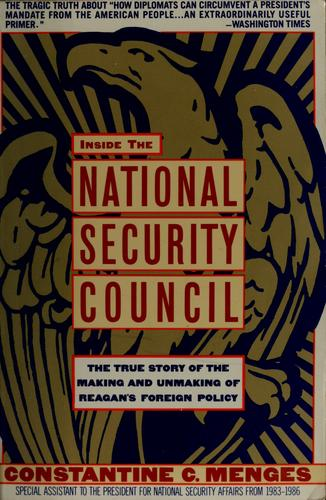 Download Inside the National Security Council