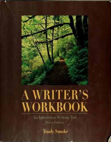 A writer's workbook