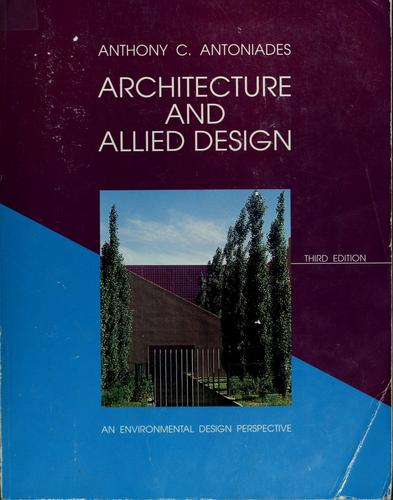 Download Architecture and allied design