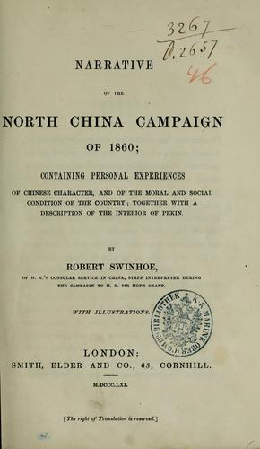 Download Narrative of the North China campaign of 1860