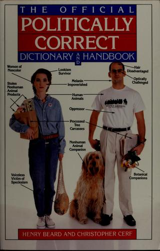 Download The official politically correct dictionary and handbook