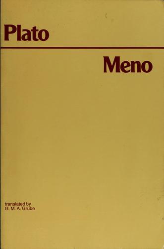 Plato's Meno