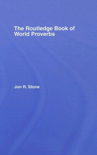 Routledge Book of World Proverbs