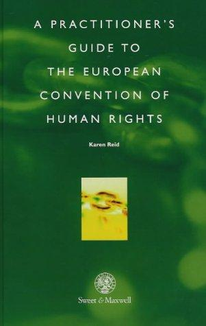 Download A practitioner's guide to the European Convention on Human Rights