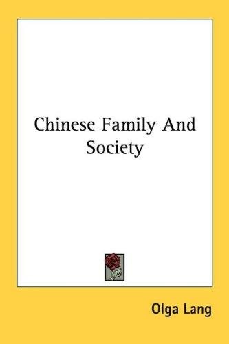 Download Chinese Family And Society
