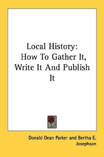 Download Local History