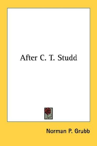 After C. T. Studd